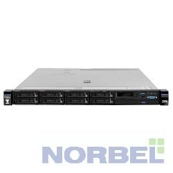 """Lenovo Сервер x3550 M5 1xE5-2630v4 1x16Gb 2x300Gb 2.5"""" SAS M5210 2x750W O Bay 8869EQG"""