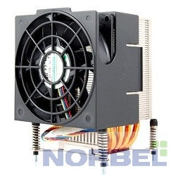 Supermicro Опция к серверу SNK-P0040AP4 4U 4пин, 1366, 19.5 дБ, 2050 об мин, Cu + A l+ тепловые трубки