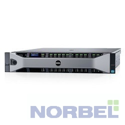 "Dell Сервер PowerEdge R730 1xE5-2630v3 2x16Gb 2RRD x16 2.5"" NO HDD RW H730 iD8En 5720 4P 2x1100W 3Y PNBD GPU 2xSD 16Gb 210-ACXU-76"