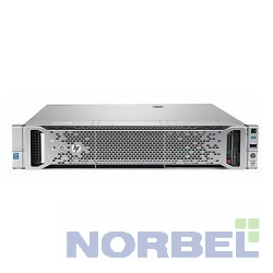 "Hp Сервер E ProLiant DL180 Gen9 1 up2 x E5-2603v4 6C 1.7GHz, 1x8GB-R DDR4-2400T, B140i ZM RAID 1+0 5 5+0 noHDD 8 LFF 3.5"" 1x550W N"