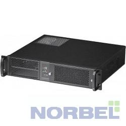 """Procase Корпус EM238F-B-0 Корпус 2U Rack server case,съемный фильтр, черный, без блока питания, глубина 380мм, MB 9.6""""x9.6"""""""