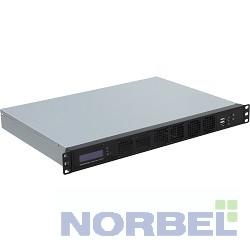 """Procase Корпус GM132-B-0, Корпус 1U Rack server case, черный, панель управления, без блока питания, глубина 320мм, MB 9.6""""x9.6"""""""