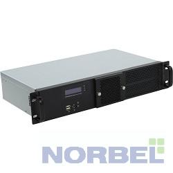"""Procase Корпус GM225F-B-0 Корпус 2U Rack server case, черный, панель управления, без блока питания, глубина 250мм, MB 6.7""""x6.7"""""""