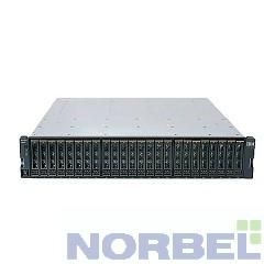 """Lenovo Опция к серверу IBM Storwize V3700 SFF Dual Control Enclosure 2U upto24x2.5""""SAS HDD,4xISCSI 1GbE + 6x6Gb miniSAS sff-8644 host"""