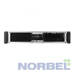 Chenbro Корпус RM24100-L, BK CC1012,LOW PROFILE REAR WINDOW,W FAN+PS2 PSU BKT RM24100H01*13053 для RM22300