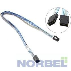 Supermicro Опция к серверу CBL-0281L - Cable SAS 75cm IPASS to IPASS CBL, PB Free