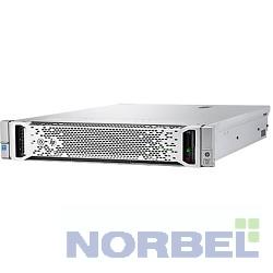"""Hp Сервер E ProLiant DL380 Gen9 1 up2 x E5-2630v4 10C 2.2GHz, 1x16GB-R DDR4-2400T, P440ar 2G RAID 1+0 5 5+0 noHDD 8 16 SFF 2.5"""" 1x500W"""