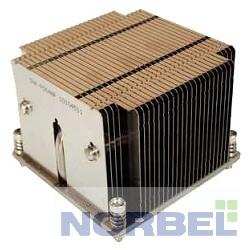 Supermicro Опция к серверу SNK-P0048P 2U 2011, радиатор без вентилятора, Cu + Al + тепловые трубки