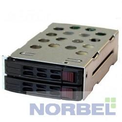 """Supermicro Опция к серверу MCP-220-82609-0N OEM Корзина для установки дисков 2 2,5"""" в заднюю панель корпуса CSE-826"""