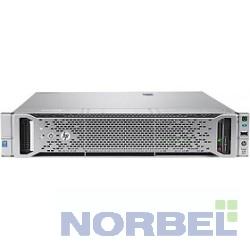 "Hp Сервер E ProLiant DL180 Gen9 1 up2 x E5-2603v4 6C 1.7GHz, 1x8GB-R DDR4-2400T, B140i ZM RAID 1+0 5 5+0 noHDD 4 LFF 3.5"" N 1x550W"
