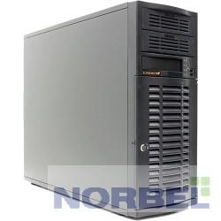 Supermicro Корпус CSE-733T-500B Mid-Tower, E-ATX, 2x5.25'', 4x3.5'' hot-swap SAS SATA, 7xFH, 427x178x531mm, front 2xUSB, 1x3.5'', 500W