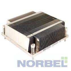 Supermicro Опция к серверу SNK-P0037P 1U 1366, радиатор без вентилятора, Cu+Al