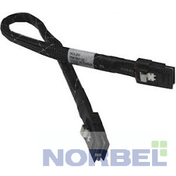Intel Опция к серверу Cable kit AXXCBL600MSMS, Kit of 2 cables, 600mm length, straight SFF-8087 to SFF-8087 connectors