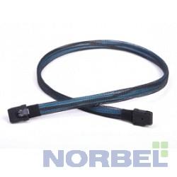 Chenbro Опция к серверу CABLE, SFF8087-SFF8087 MINI-SAS TO MINI-SAS, 600mm 26H113215-030 LSI00256 CBL-SFF8087SB-06M, Кабель внутренний