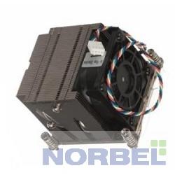 Supermicro Опция к серверу SNK-P0048AP4 2U 4пин, 1356 2011 2011 Narrow, 52 дБ, 8400 об мин, Cu + Al + тепловые трубки