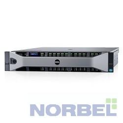 """Dell Сервер PowerEdge R730 1xE5-2620v4 1x16Gb x16 1x600Gb 10K 2.5"""" SAS RW H730 iD8En 5720 4P 2x750W 3Y PNBD 210-ACXU-100"""