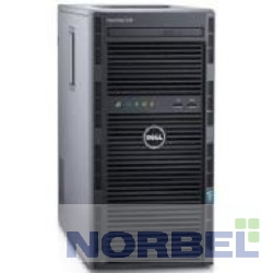 "Dell Сервер PowerEdge T130 1x6100 1x8Gb 1RUD x4 1x1Tb 7.2K 3.5"" SATA RW iD8Ex 5720 2P 1x290W 3Y NBD 210-affs-1"