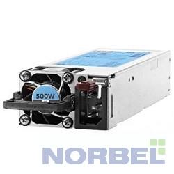 Hp Блок питания 500W FS Plat Ht Plg Pwr Supply Kit 720478-B21