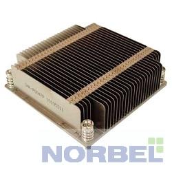 Supermicro Опция к серверу SNK-P0047P 1U 2011, радиатор без вентилятора, Cu+Al
