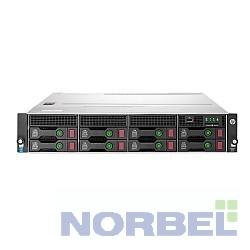 "Hp Сервер ProLiant DL80 Gen9 E5-2609v4 8C 1.7GHz, 1x8GB-R DDR4-2400T, H240 ZM RAID 1+0 5 5+0 noHDD 8 LFF 3.5"" 1x550W N NonRPS,2x1Gb"