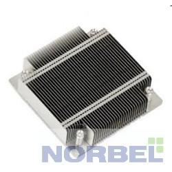 Supermicro Опция к серверу SNK-P0046P 1U 1155, радиатор без вентилятора, Al + тепловые трубки