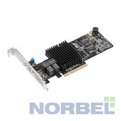 Asus контроллер и плата управления Контроллер PIKE II 3108-8I 240PD 2G, 8-port SAS-3, 12 Gbit s, RAID 0, 1, 10, 5, 6, 50, 60 LSI SA3108