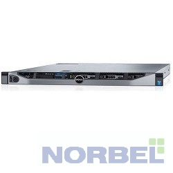 """Dell Сервер PowerEdge R630 1xE5-2620v4 1x16Gb 2RRD x8 1x600Gb 10K 2.5"""" SAS RW H730 iD8En 2x750W 3Y PNBD 210-ACXS-94"""