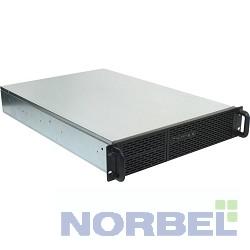 "Procase ������ B205L-B-0 ������ 2U Rack server case, ������, ��� ����� �������, ������� 650��, MB 12""x13"", PSU - PS 2 only"
