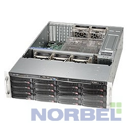 Supermicro Корпус CSE-836BE16-R1K28B