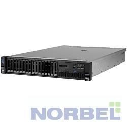Lenovo Сервер Сервер TopSeller x3650M5 E5-2609v3 1.9GHz 6C, 8GB 1x8GB 2133MHz LP RDIMM, no HDD up to 8x2.5 , M5210 1GB Flash RAID 0-50