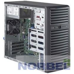 Supermicro Сервер SuperServer Mid-Tower 5039D-i CPU 1 E3-1200v5 noHS no memory 4 on board RAID 0 1 5 10 internalHDD 4 LFF 2xGE 3xFH