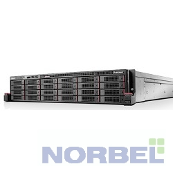 Lenovo Сервер ThinkServer RD650: 70D0001JEA Intel® Xeon E5-2640 V3 8C 90W 2.60GHz 20MB 8.00GT DDR4-1866 HT Turbo, 8GB 1RX4 PC4 17000R