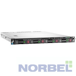 "Hp Сервер E ProLiant DL120 Gen9 1xE5-2603v4 1x8Gb x4 2.5"" SAS SATA B140i 1G 2P 1x550W 3-1-1 830011-B21"