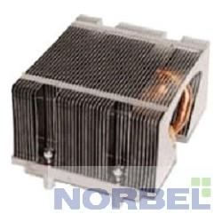 Supermicro Опция к серверу SNK-P0043P 2U G34, радиатор без вентилятора, Cu + Al + тепловые трубки