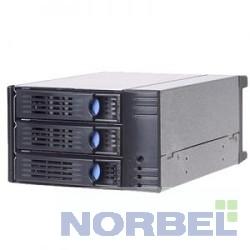 Chenbro Опция к серверу SK32303 T2 H01 HDD корзина Storage Kit, 3x3,5HDD hotSWAP в 2x5,25, 6G SAS SATAII,BK SK32303 T2 H01