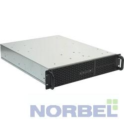 "Procase ������ B205-B-0 ������ 2U Rack server case, ������, ��� ����� �������, ������� 550��, MB 12""x9.6"", PSU - PS 2 only"