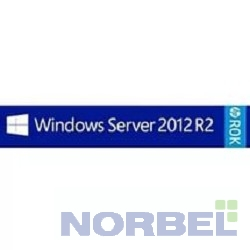 Hp Программное обеспечение Windows Server 2012 R2 Foundation Edition 64bit, ROK DVD for 1CPU Only, 32GB, RU En, up to 15 users, No