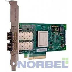 Dell Опции к серверам QLogic QLE2662, Dual Port, 16Gbps Fibre Channel PCIe HBA Card Full Height