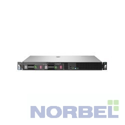 Hp Сервер E ProLiant DL20 Gen9 E3-1230v5, 1x8Gb-U, B140i ZM RAID 1+0 5 5+0 noHDD 2 LFF 3.5'' N 1x290W N NonRPS,2x1Gb s,noDVD,iLO4.2
