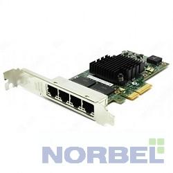 Intel Сетевые адаптеры Ethernet Server Adapter I350-T4V2 I350T4V2, I350T4V2BLK