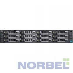 "Dell Сервер PowerEdge R730XD 1xE5-2630v4 1x16Gb 2RRD x24 1x600Gb 10K 2.5"" SAS 2x600Gb 10K 2.5"" SAS H730 iD8En 5720 4P 2x750W 3Y PNBD"