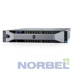 "Dell Сервер PowerEdge R730 1xE5-2650v3 1x8Gb 2RRD x8 3.5"" RW H730 iD8En 1G 4P 2x750W 3Y PNBD 210-ACXU-64"